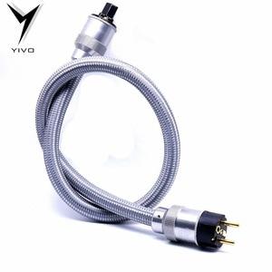 Image 5 - Hi End z nami zasilanie prądem zmiennym przewód zasilający kabel hifi amerykański standard płyta audio CD wzmacniacz lampowy wzmacniacz moc US kable ue usa IEC wtyczka zasilania giętki przewód