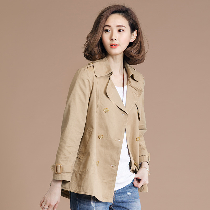 Casual Loose Spring Windbreaker 6XL Women Jacket Coat 2019 New Large Size Female Solid Short Coats