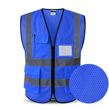 9a6ef35a3 Vestuário reflector para Instalações de Tráfego Colete Corpo Seguro  Dispositivo de Proteção de Segurança Para A