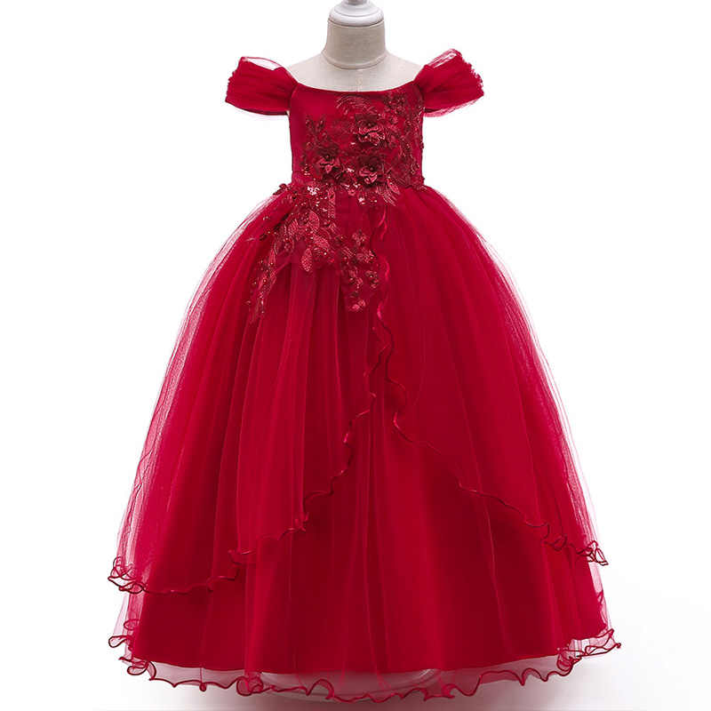 6580916bd Baby Girls Dress 2018 Summer Clothes Wedding Dress Kids Dresses For Girls  Clothing Party Princess Dress
