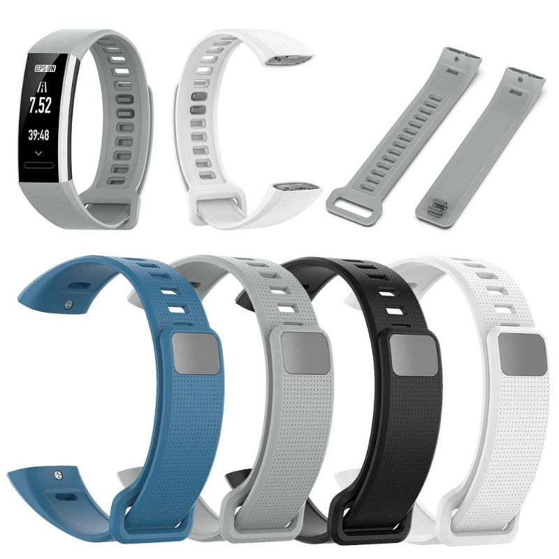 Replacement Wristband Bracelet-Strap Adjustable ERS-B19/ERS-B29 2/Band Soft-Silicone