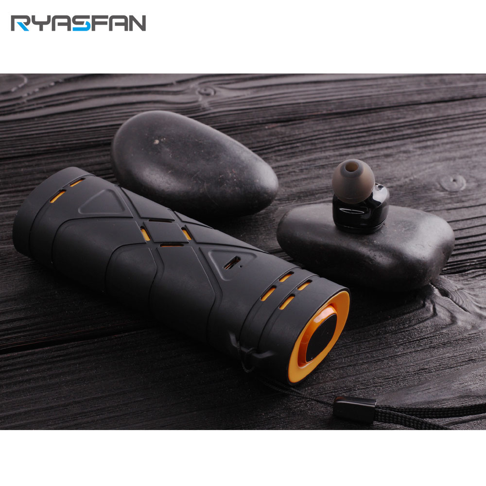RYASFAN Bluetooth Wireless Earbuds TWS Stereo In Ear Sport Headset Noise Cancelling Magnet Charging for Xiaomi Smartphone iPhone