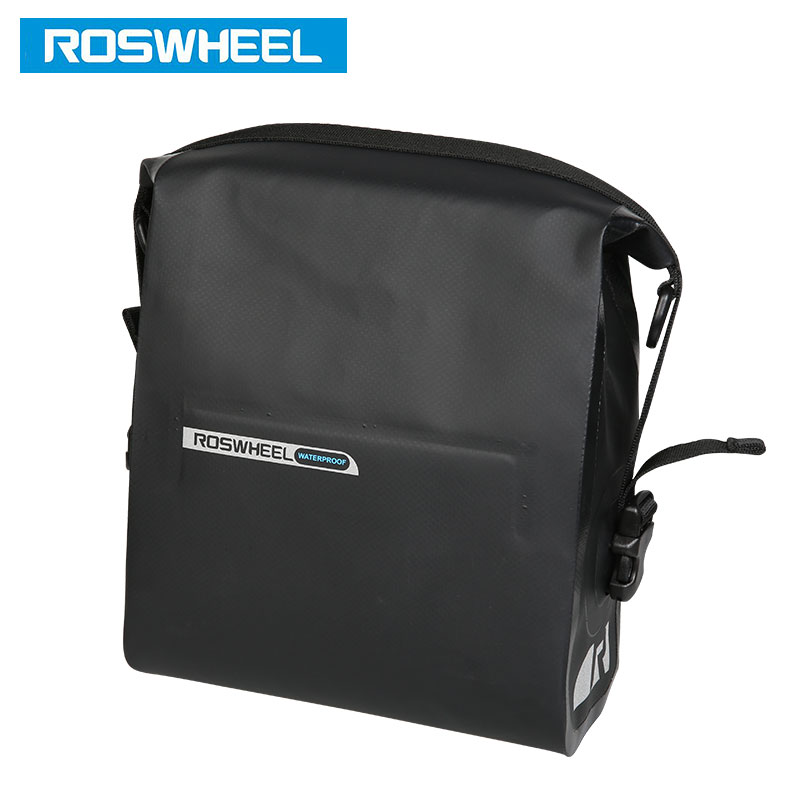 ROSWHEEL DRY # 111361 Volle wasserdichte Fahrradlenkertasche 3L - Radfahren - Foto 5