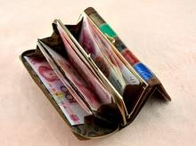 3 Fold Fashion Genuine Leather Women Wallets