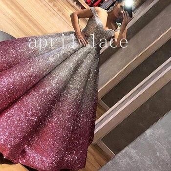 stock 5yards/bag AA1522 # silver mix purple gradual change glued glitter  print tulle net mesh flower fabric for wedding