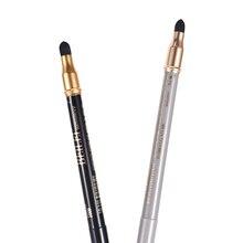 Hot Sale 2 In 1 Eyeliner Eye Shadow Pen Sponge Waterproof Eyeliner Pencil Eye Shadow Liner Makeup Pen Cosmetic Makeup Tools