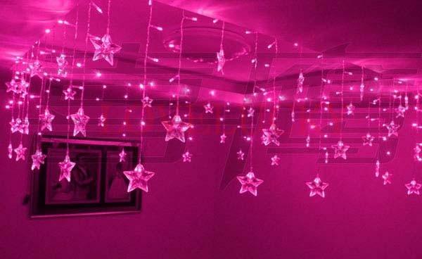 popular star icicle lights buy cheap star icicle lights. Black Bedroom Furniture Sets. Home Design Ideas