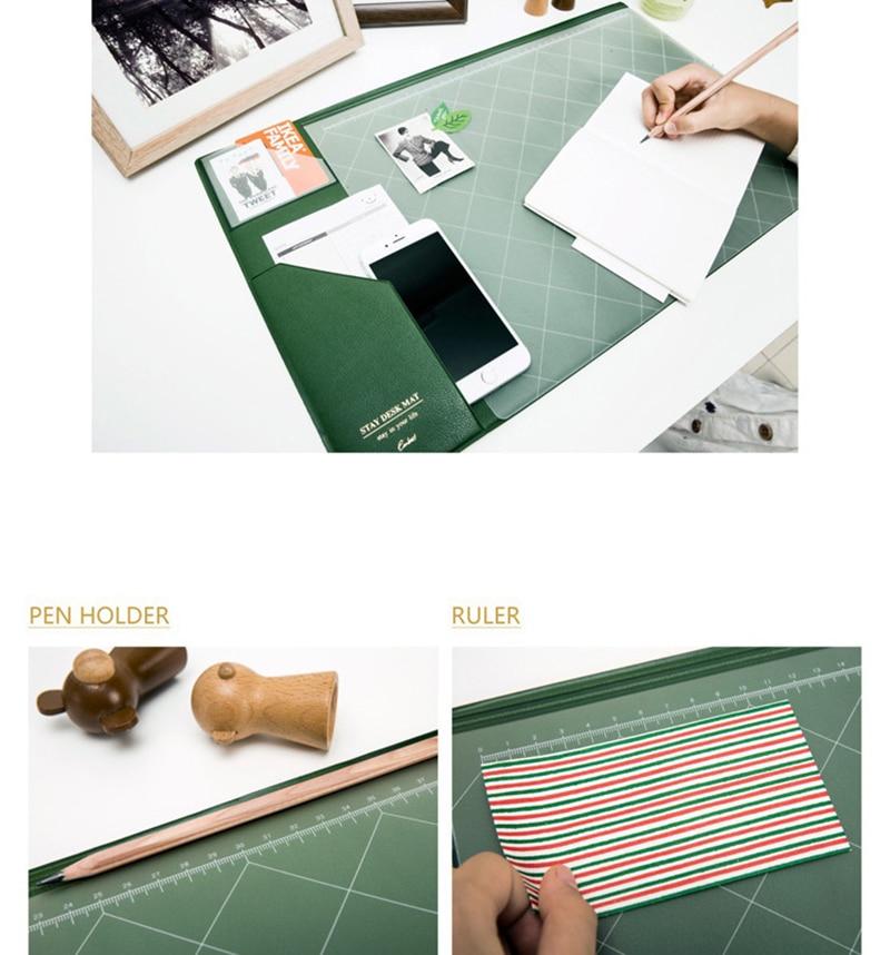 2017 2018 Calendar Korea Kawaii Candy Color Office Desktop Table Mat Multifunction Weekly Planner Organizer Holder Desk Supplies