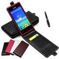 Classic Luxury Advanced Top Leather Flip Colorful Leather Case For Philips S309 / S 309 Phone Cases Cover With Card Slot