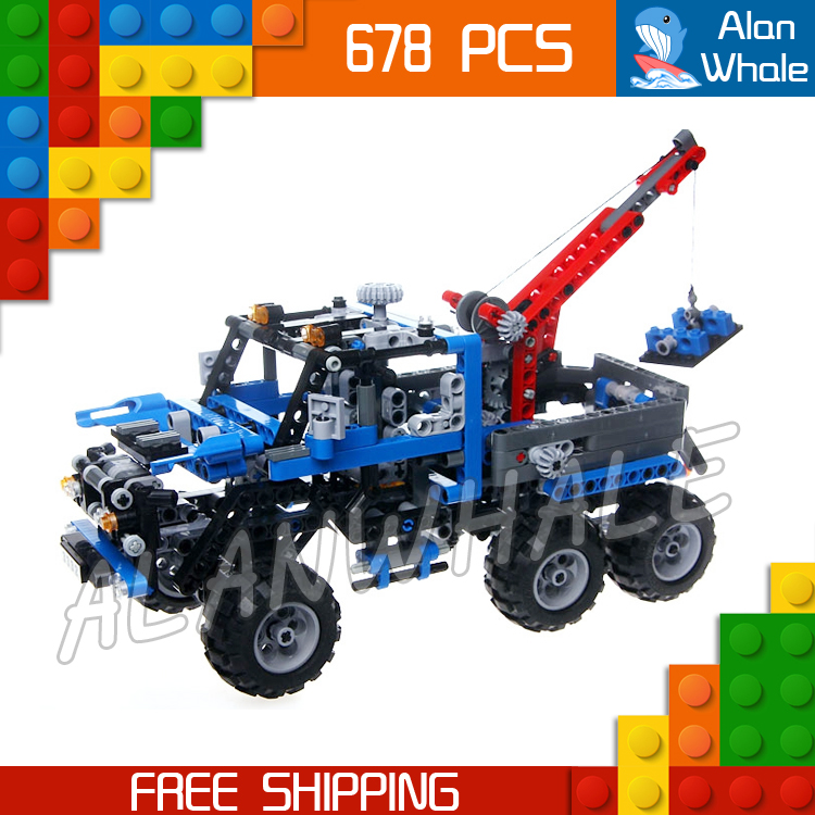 678pcs 3332 Technic Road Truck Model Building Blocks minicar diecast cars automobile miniature Boys Toys Compatible With lego