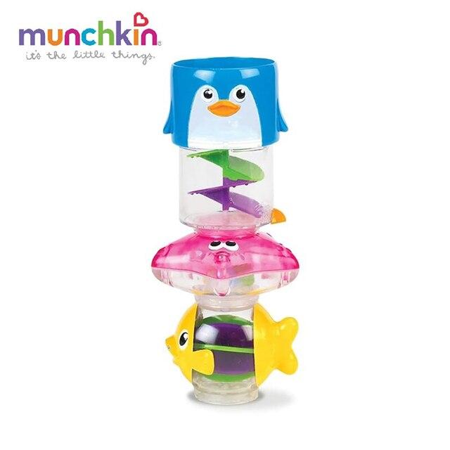Игрушка для ванны Munchkin Пирамидка 3 в 1 6+