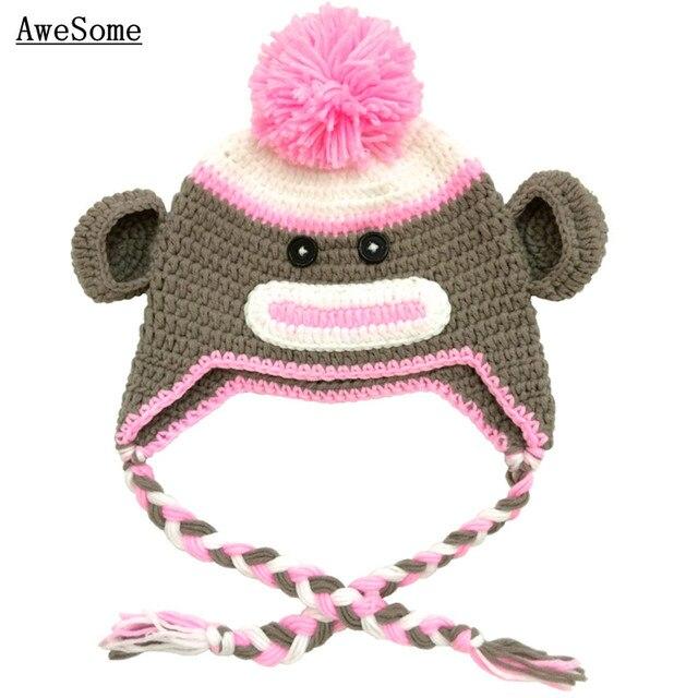 Lovely Sock Monkey Hat f9475fc26f41