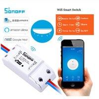 ITEAD Sonoff Basic Wi-Fi Беспроводной умный переключатель DIY умный таймер настенный переключатель Wi-Fi 10A 90 V-250 V Поддержка IOS Android с помощью приложения на...
