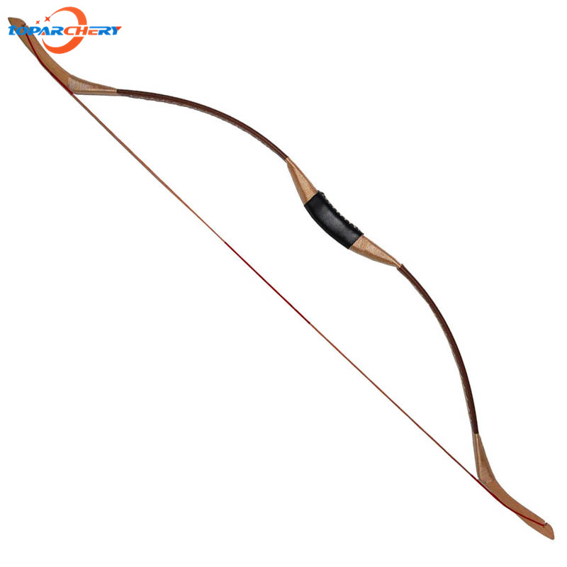 Traditional Recurve Bow Archery 40lbs 45lbs 50lbs for Carbon Fiberglass Arrows Hunting Shooting Practice Games Wooden Long Bow 1 piece hotsale black snakeskin wooden recurve bow 45lbs archery hunting bow