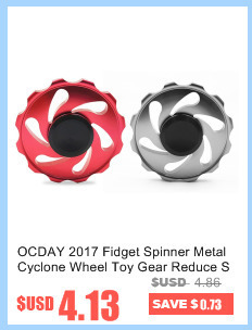 OCDAY Fidget Spinner Smooth Contour Finger spinner Three Silicon Nitride Bearing Long Time Reduce Stress EDC Toys Hand Spinner