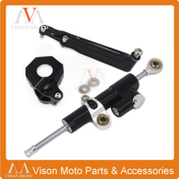 CNC Direction Steering Damper Stabilizer Holder Bracket Mounting For HONDA CBR600RR CBR 600RR CBR 600 RR 2005 2006 05 06