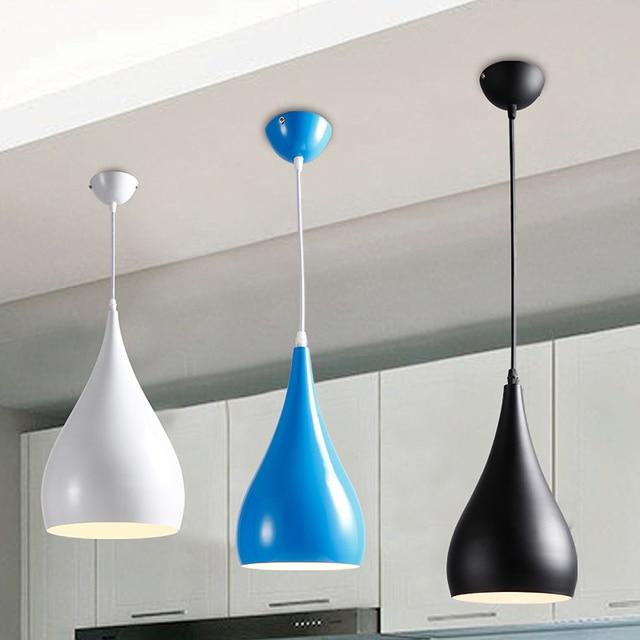Lámpara colgante moderna para restaurante, minimalista lámpara colgante  LED, lámpara colgante para comedor, lámpara para decoración interior, ...
