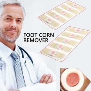 Image 3 - 18 stücke Medizinische Pflaster Fuß Mais Entfernung Entferner Warzen Dorn Patch Für Fuß Schwielen atches Mais von fuß Schwielen Callosit z08053