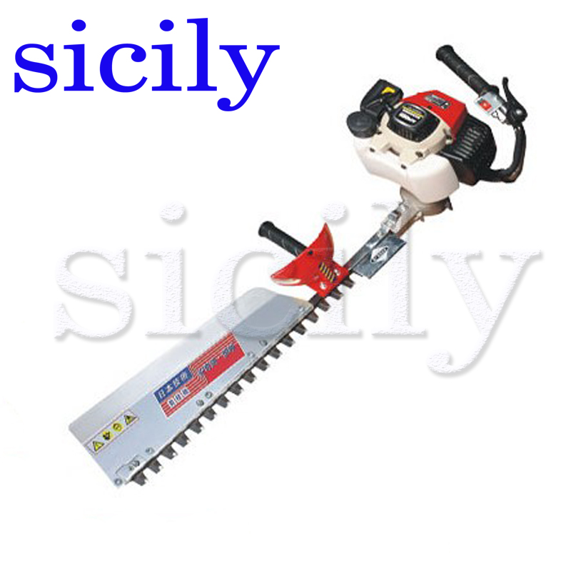 SICILY Single blade Hedge machine, Hedgerow clipper, gasoline tea tree leaf pruning machine, two stroke pruning machine LJ7500F