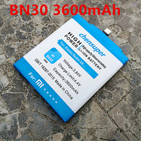 3600mAh Chensuper BN30 New Replacement Mobile Phone Battery For Xiaomi Redmi 4A Battery Powerful Batteries