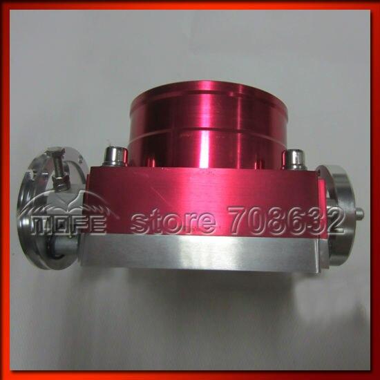 Алюминиевый Универсальный VQ38TPS 90 мм корпус дроссельной заслонки красный