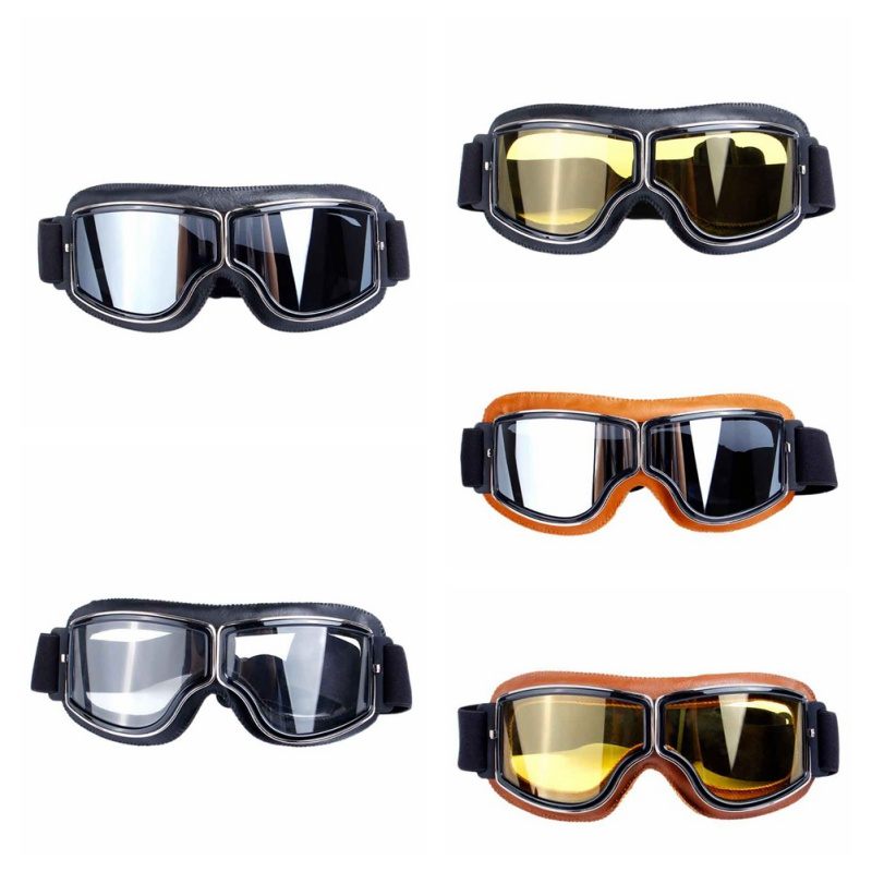 Goggles Prevent Wind Snowmobile Ski Snowboard Dirt Bike Glasses Motocross Off-Road Eyewear Color Lens