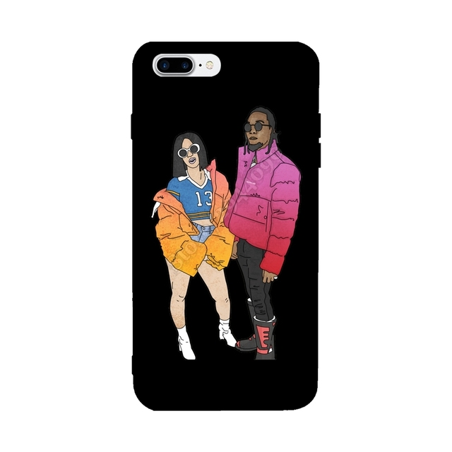 protective cardi b rappers for iphone x case 2018 fashion for iphoneprotective cardi b rappers for iphone x case 2018 fashion for iphone 6s 6 7 8 plus cases tpu custom covers