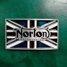 1 pcs ROYAUME-UNI Drapeau Norton Moto De Luxe Cowboy Ceinture Boucle Pour  Hommes Jeans Western Ceinture Tête 830db42aef9