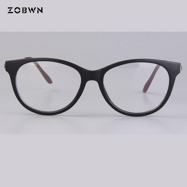 e81e8224d44 Matt black Cet Eyeglasses Frame glasses Retro Fashion nerd Glasses Computer metal  wire temples Oculos De Grau feminino masculino