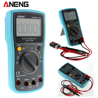 AN850B 6000 Counts LCD Digital Multimeter DMM With NCV Detector DC AC Voltage Current Meter Resistance