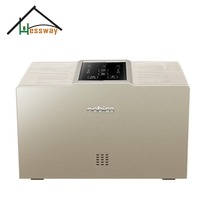Dual core air freshener dispenser negative ion air purifying system with CADR 90