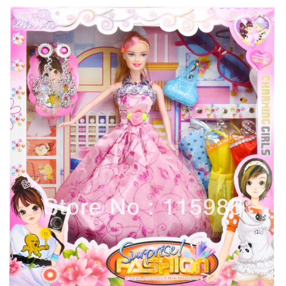Flower Fashion Beauty Toys Popular Angel Dolls Dress Up
