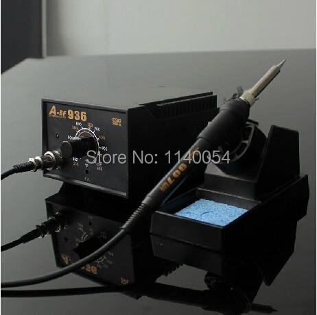 60W 110V / 220VAC 936 termostatinis litavimo stotis, antistatinis - Suvirinimo įranga - Nuotrauka 1