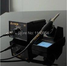 60W 110V/220VAC 936 Thermostatic Soldering Station, Anti-static Lead-free Weldering Station with Soldering Iron 60W