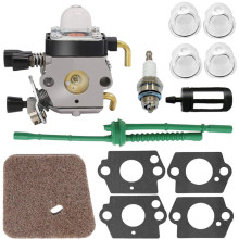 1 Set Carburetor Kit 4pcs back up mounting for Stihl Fs80 Carburetor Stihl Fc55 Fc75 Fc85 Fs310 Fs38 Fs45 Fs45C Fs45L Fs46 Fs55