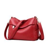 2019 New Brand Crossbody Bags Leather Women Shoulder Bag Soft Women Leather Handbags Elegante Women Messenger Bags Luxury