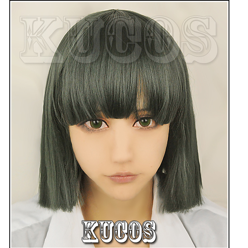Spirited Away Haku Nigihayami Kohakunushi Green Algae Color Cosplay Wig + Wig Cap