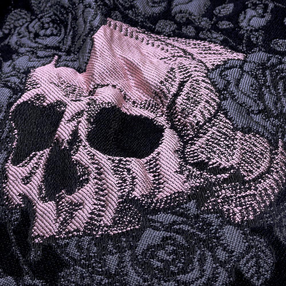 CLEARANCE Luxury Design Autumn Cute Lolita Gothic Dress Rose Skull Jacquard  Women Mini Black Skater Dress Party Female vestidos-in Dresses from Women s  ... 48a64f87d4e3