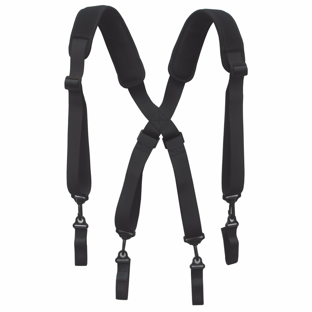 Tool Belt Suspender Duty Belt Suspender Duty Belt Harness for Tool Belt rocotactical basketweave police duty belt web duty belt with loop liner