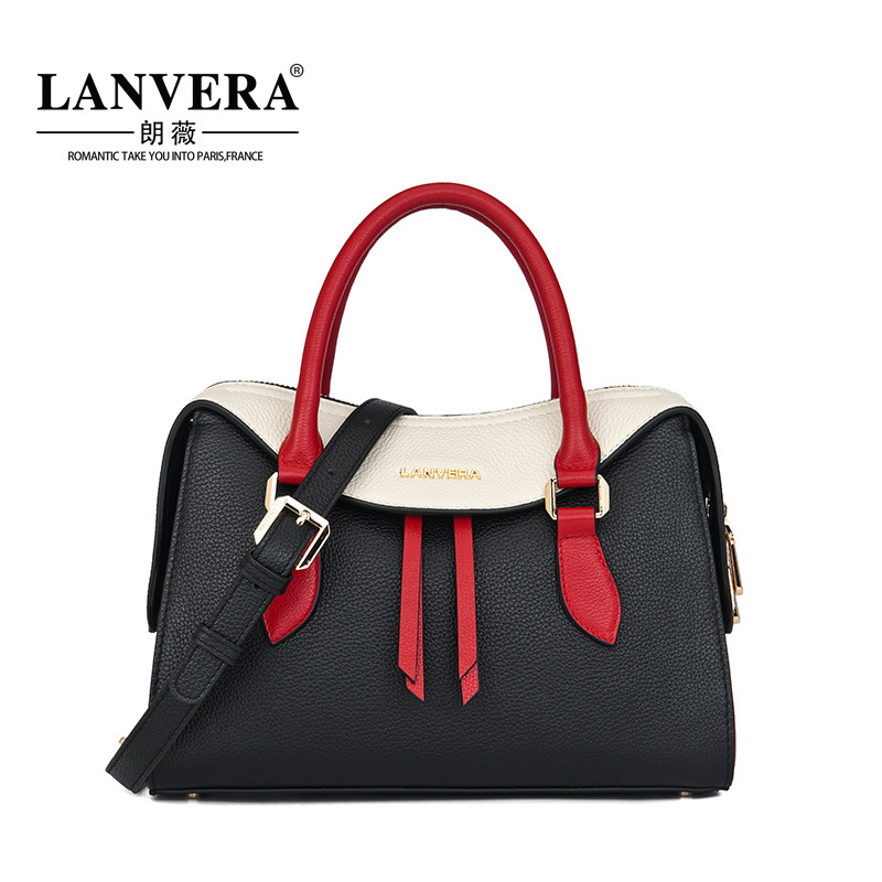 Luxury Women Handbag Genuine Leather Women Messenger Bag Female High Quality Shoulder Bag 2017 New Fashion Hit Color Handbag pioneer se cl502 m orange