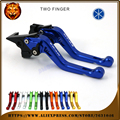 For YAMAHA MT03 MT-03 2005-2009  RED BLACK BLUE NEW STYLE MOTOR  Motorcycle Accessories Adjustable Short Brake Clutch Levers