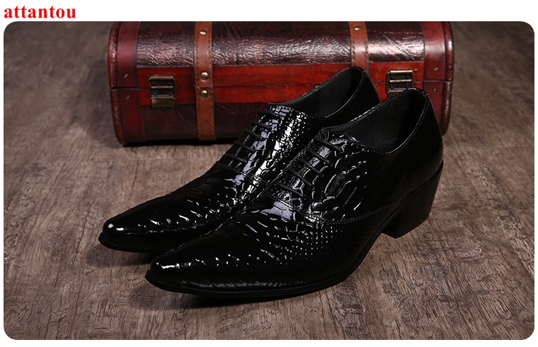 Lace Up Men's Leather Shoes Black Snakeskin Single Shoes Pointed Toe Luxury Male Casual Shoes Man Office Feast Formal Shoes hot sale blue snakeskin pointed toe men dress shoes lace up leather shoes luxury male casual shoes man office feast formal shoes