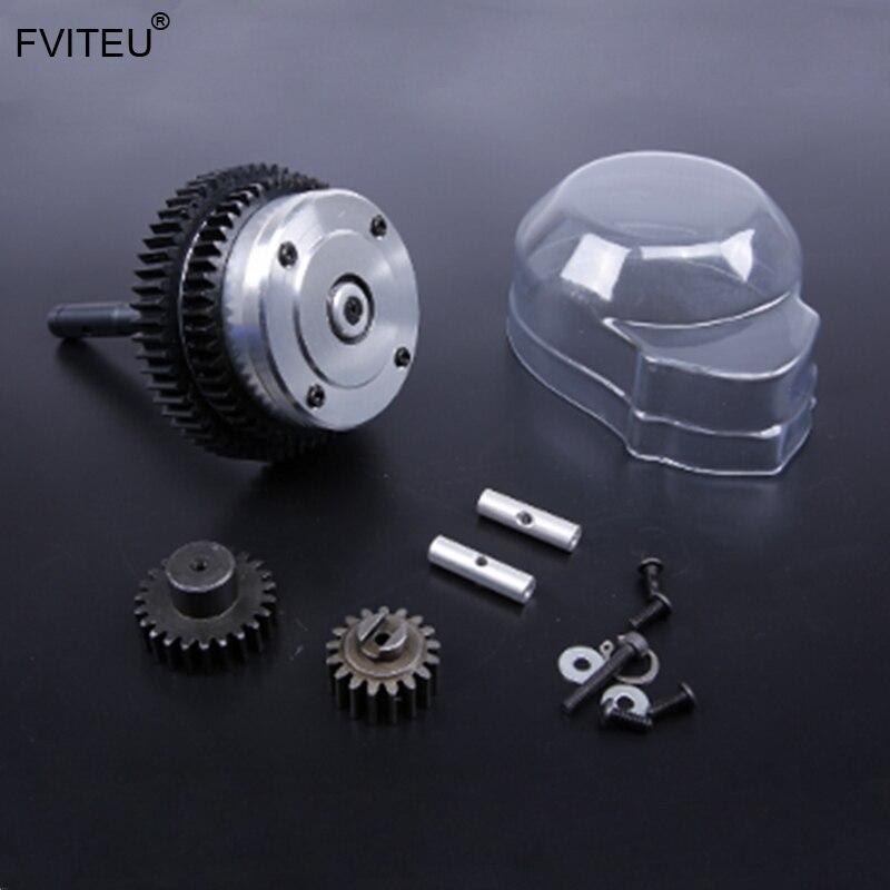 FVITEU Metal 2 speed transmission kits(Gear ratio 57T/17T, 51T/23T) for 1/5 hpi baja 5b SS 5T 5SC Rovan KMFVITEU Metal 2 speed transmission kits(Gear ratio 57T/17T, 51T/23T) for 1/5 hpi baja 5b SS 5T 5SC Rovan KM