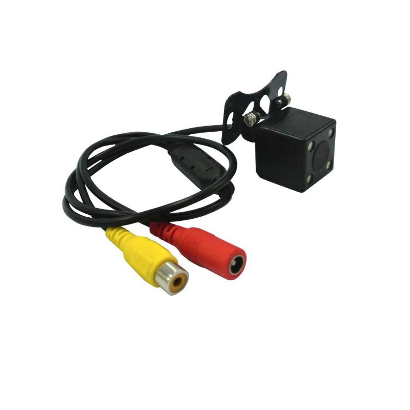imágenes para Mejor cámara hiden cámara web coche anti radar detector de coches Inversa montaje de Cámara Universal de Visión trasera Cámara HD 170 ''de visión Amplio ángulo