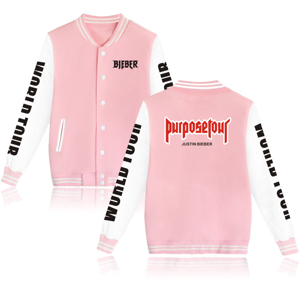 Hoodies & Sweatshirts Reliable 2019 Justin Bieber Purpose Tour Hoodies Men/women Fleece Pullover Hoodie Sweatshirt Hip Hop Streetwear Jacket Coat Plus Size Online Shop