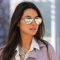 Classic HD Espejo Gafas 2016 Piloto aviador gafas de Sol de Las Mujeres de Los Hombres Gafas de Sol Mujeres Hombres Diseñador de la Marca Shades Unisex