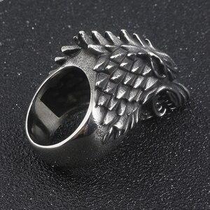 Кольцо с волком из фильма «Игра престолов», dazenerys Таргариен, женские и мужские украшения, Новая мода