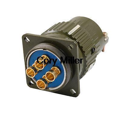 5.5mm Dia. 4 Pins Aviation Circular Connector Plug AC 500V 100A Y36M-4TK цены