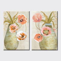 new still life flowers canvas art print canvas painting home decorative Vintage home Decor wall pictures for living room