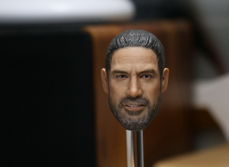 1/6th scale figure Accessory The Walking headsculpt Negan head shape for 12 Action figure doll ,Not included body and clothes 1 6th scale doll accessory conan the barbar headsculpt schwarzenegger head shape for 12 action figure not included body clothes
